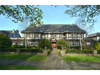 "Photo 1: 5055 CONNAUGHT Drive in Vancouver: Shaughnessy House for sale in ""Shaughnessy"" (Vancouver West)  : MLS®# V1103833"