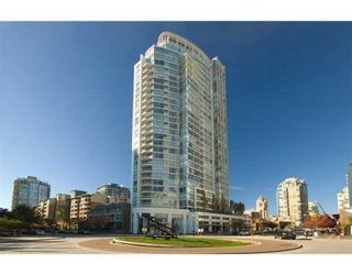 Photo 1: # 606 1201 MARINASIDE CR in Vancouver: Yaletown Condo for sale (Vancouver West)  : MLS®# V826272