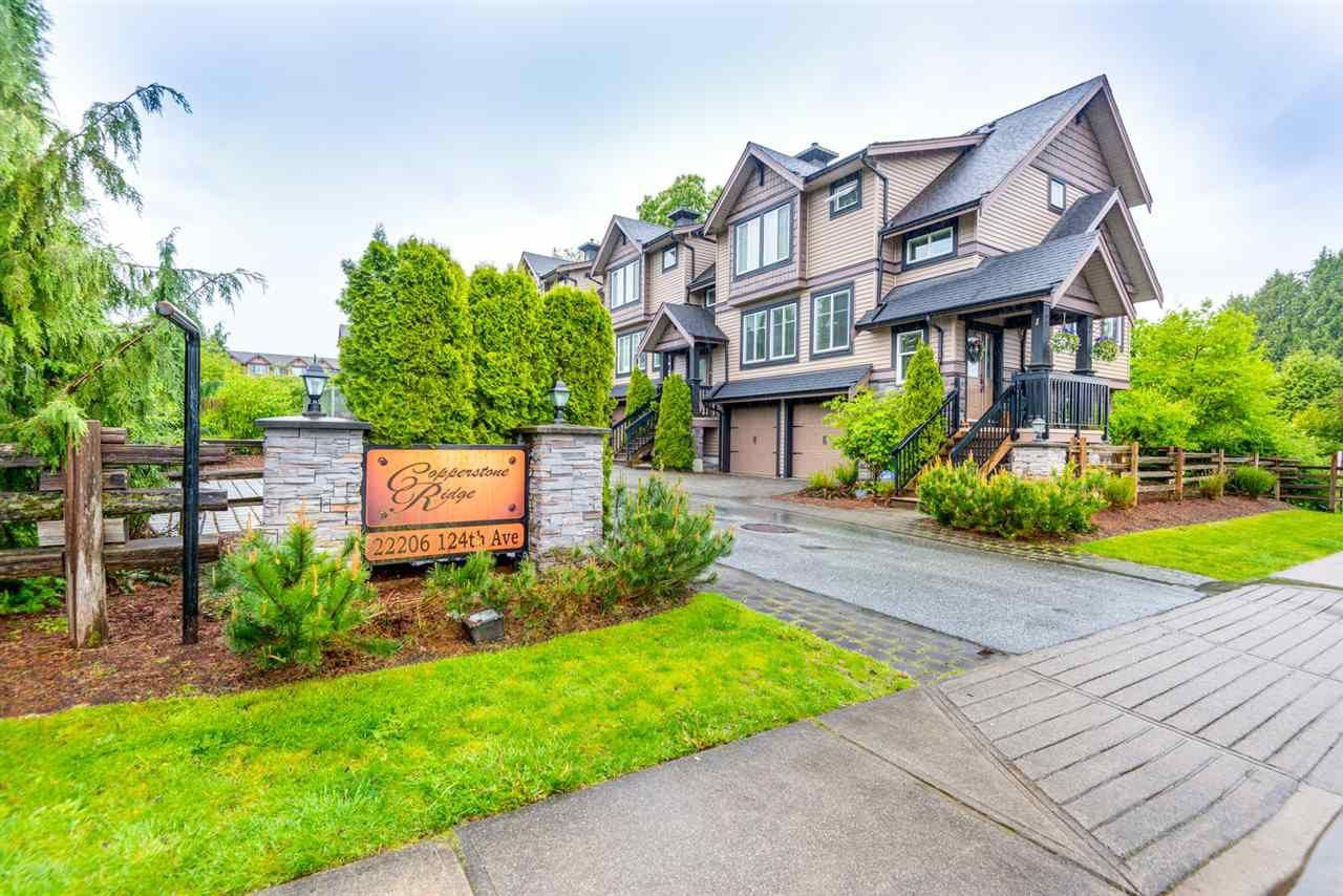 Main Photo: 10 22206 124 Avenue in Maple Ridge: West Central Townhouse for sale : MLS®# R2562378