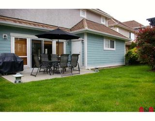 "Photo 10: 76 15288 36TH Avenue in Surrey: Morgan Creek Townhouse for sale in ""CAMBRIA"" (South Surrey White Rock)  : MLS®# F2816652"