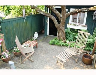 Photo 10: 3103 W 3RD Avenue in Vancouver: Kitsilano 1/2 Duplex for sale (Vancouver West)  : MLS®# V771604