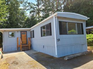 Photo 1: 39 1260 Fisher Rd in : ML Cobble Hill Manufactured Home for sale (Malahat & Area)  : MLS®# 881864