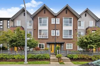 """Photo 1: 97 2380 RANGER Lane in Port Coquitlam: Riverwood Townhouse for sale in """"FREEMONT INDIGO"""" : MLS®# R2615218"""