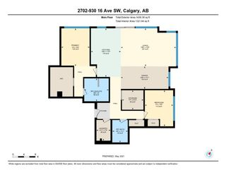 Photo 25: 2702 930 16 Avenue SW in Calgary: Beltline Apartment for sale : MLS®# A1105091
