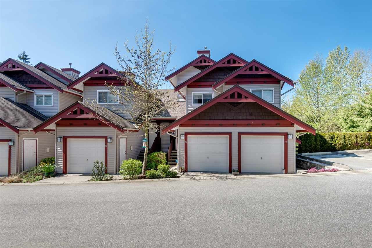 Main Photo: 79 15 FOREST PARK WAY in : Heritage Woods PM Townhouse for sale : MLS®# R2055200