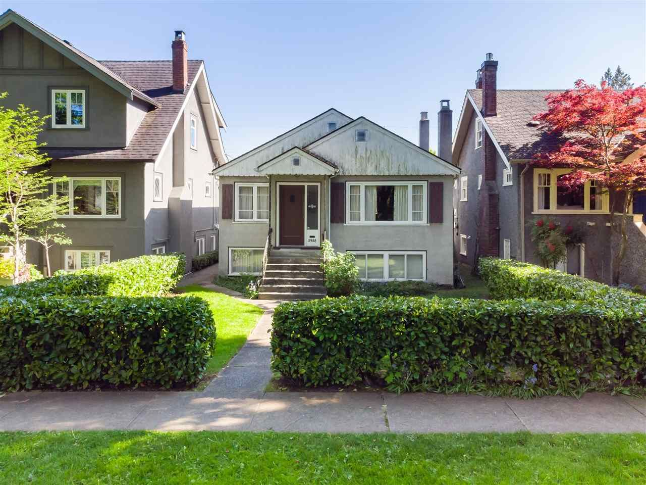 Main Photo: 3958 W 19TH Avenue in Vancouver: Dunbar House for sale (Vancouver West)  : MLS®# R2579264