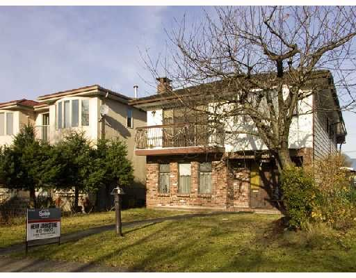 Main Photo: 2613 E 21ST Avenue in Vancouver: Renfrew Heights House for sale (Vancouver East)  : MLS®# V679030