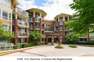 """Photo 1: 406 14 E ROYAL Avenue in New Westminster: Fraserview NW Condo for sale in """"Victoria Hill"""" : MLS®# R2092920"""