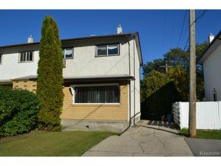 Photo 1: 62 Canberra Road in WINNIPEG: Windsor Park / Southdale / Island Lakes Residential for sale (South East Winnipeg)  : MLS®# 1321852