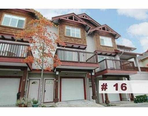 """Main Photo: 16 15 FOREST PARK Way in Port_Moody: Heritage Woods PM Townhouse for sale in """"DISCOVERY RIDGE"""" (Port Moody)  : MLS®# V676474"""