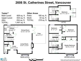 Photo 18: 2608 ST. CATHERINES Street in Vancouver: Mount Pleasant VE 1/2 Duplex for sale (Vancouver East)  : MLS®# R2009853
