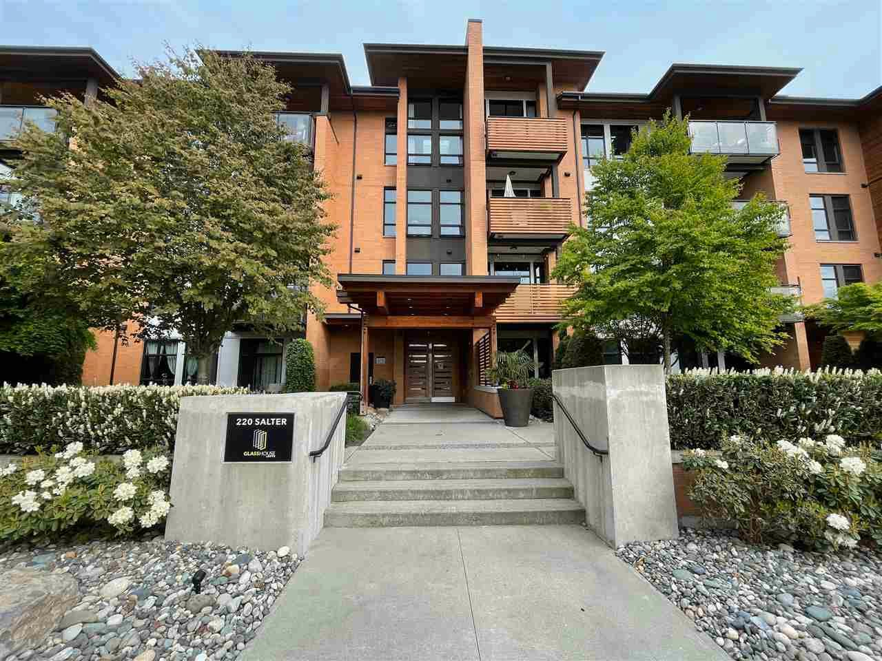 Main Photo: 205 220 SALTER Street in New Westminster: Queensborough Condo for sale : MLS®# R2588294