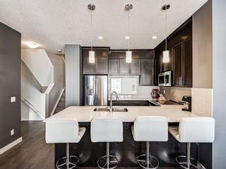 Photo 23: 199 Silverado Plains Park SW in Calgary: Silverado Row/Townhouse for sale : MLS®# A1079562