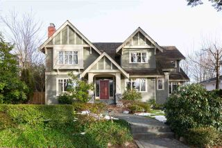 Photo 1: 5878 MARGUERITE Street in Vancouver: South Granville House for sale (Vancouver West)  : MLS®# R2342138