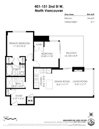 """Photo 24: 401 151 W 2ND Street in North Vancouver: Lower Lonsdale Condo for sale in """"SKY"""" : MLS®# R2615924"""