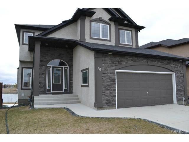 Main Photo: 56 Farnsworth Crescent in WINNIPEG: South St Vital Residential for sale (South East Winnipeg)  : MLS®# 1409015