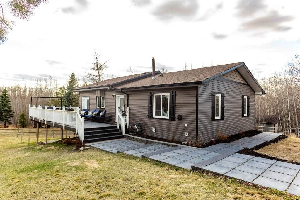 Main Photo: 30 1219 HWY 633: Rural Parkland County House for sale : MLS®# E4239375