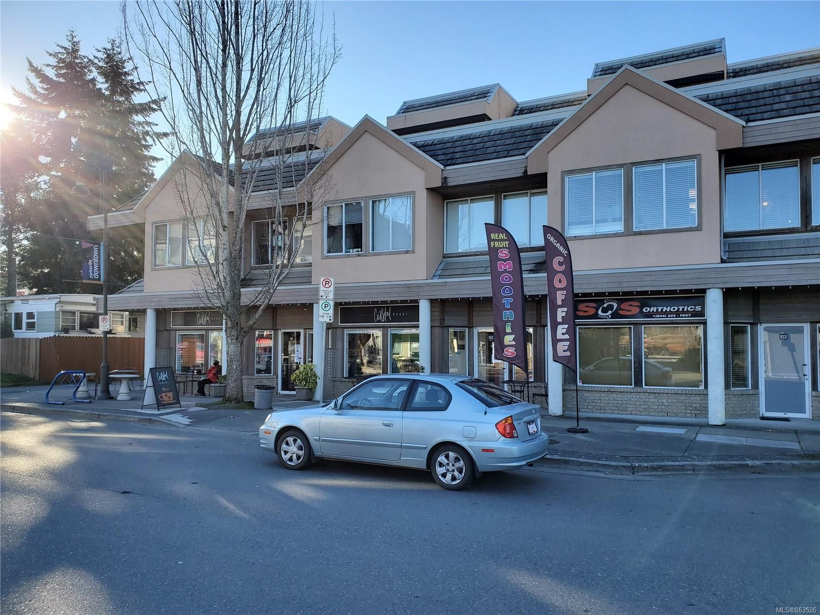 Main Photo: 215 198 E Island Hwy in : PQ Parksville Office for sale (Parksville/Qualicum)  : MLS®# 863526