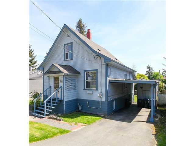 """Main Photo: 320 TENTH Avenue in New Westminster: GlenBrooke North House for sale in """"GLENBROOKE NORTH"""" : MLS®# V1108316"""