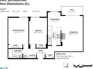 Photo 3: 802 320 ROYAL Avenue in New Westminster: Downtown NW Condo for sale : MLS®# R2584522