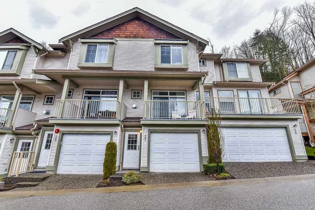 """Main Photo: 27 35287 OLD YALE Road in Abbotsford: Abbotsford East Townhouse for sale in """"THE FALLS"""" : MLS®# R2146083"""