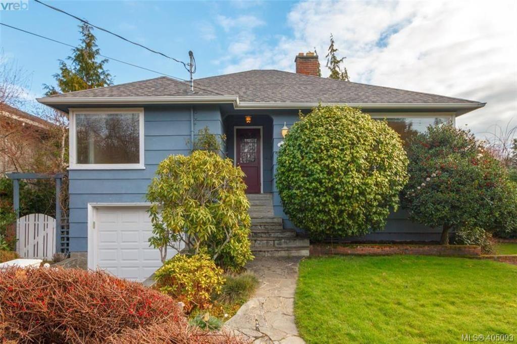 Main Photo: 897 Byng St in VICTORIA: OB South Oak Bay House for sale (Oak Bay)  : MLS®# 804955