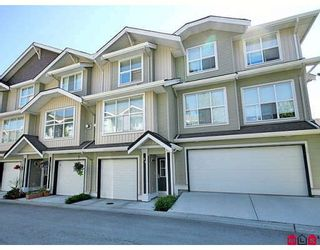 """Photo 1: 24 20460 66TH Avenue in Langley: Willoughby Heights Townhouse for sale in """"WILLOW EDGE"""" : MLS®# F2822446"""