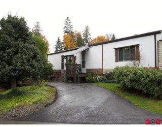 "Photo 1: 22 2035 MARTENS Street in Abbotsford: Poplar Manufactured Home for sale in ""Maplewood Estates"" : MLS®# F2727186"