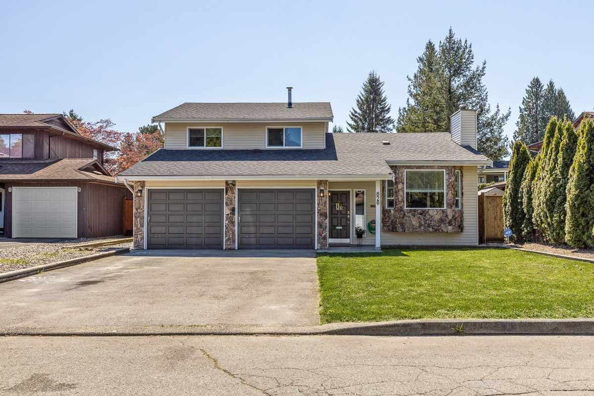 Main Photo: 820 INVERNESS Place in Port Coquitlam: Lincoln Park PQ House for sale : MLS®# R2584793