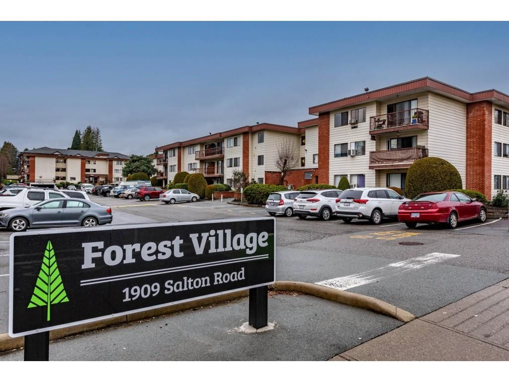 """Main Photo: 409 1909 SALTON Road in Abbotsford: Central Abbotsford Condo for sale in """"FOREST VILLAGE"""" : MLS®# R2535956"""