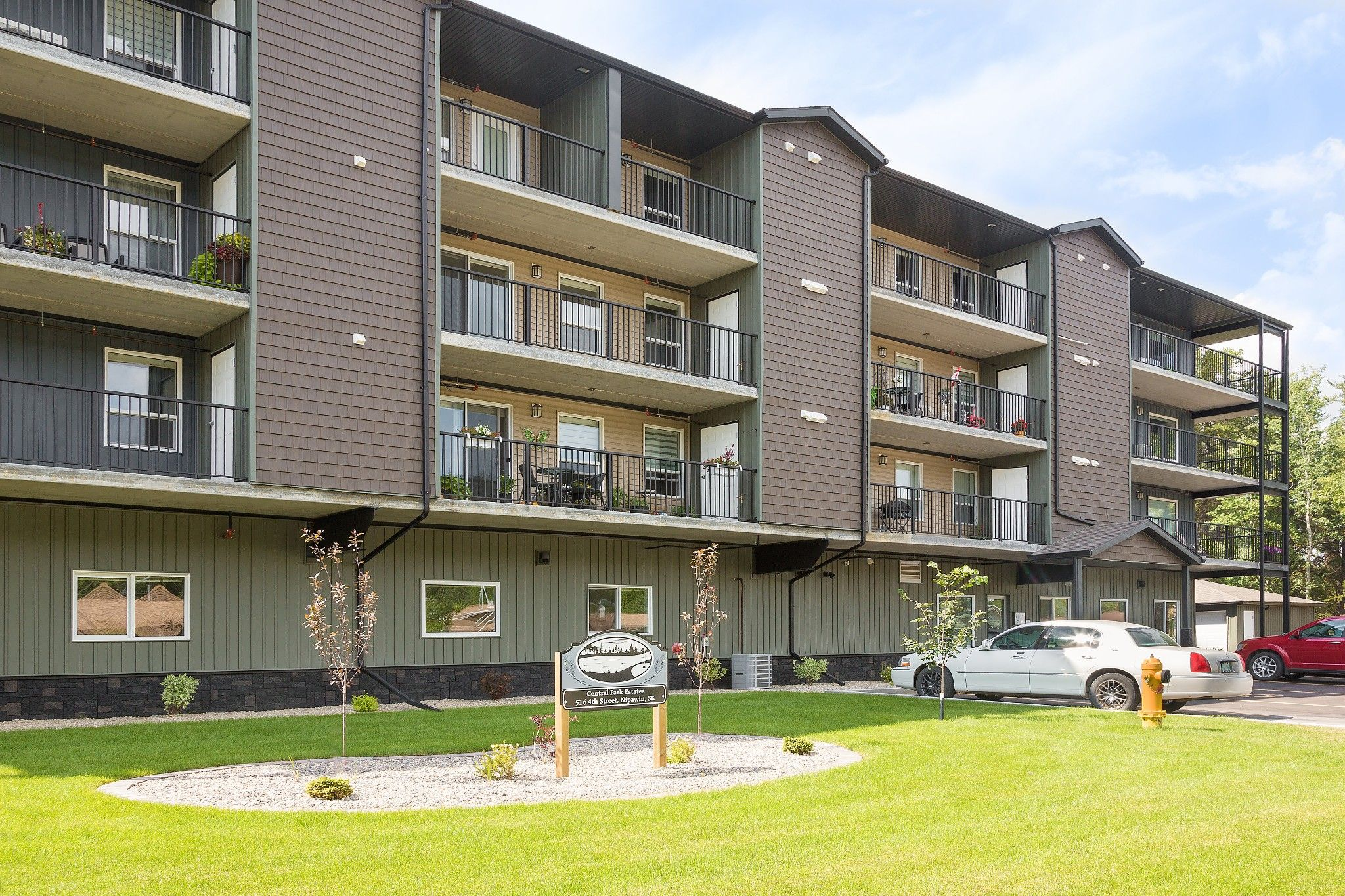 Main Photo: 305 518 4th Street East in Nipawin: Condominium for sale