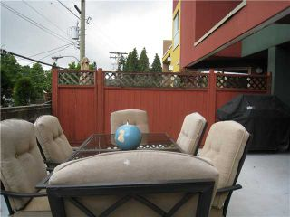"""Photo 8: 23 3477 COMMERCIAL Street in Vancouver: Victoria VE Townhouse for sale in """"LA VILLA"""" (Vancouver East)  : MLS®# V836963"""
