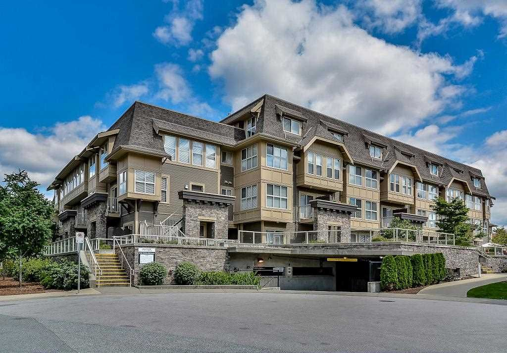 "Main Photo: 211 2110 ROWLAND Street in Port Coquitlam: Central Pt Coquitlam Townhouse for sale in ""AVIVA ON THE PARK"" : MLS®# R2094344"