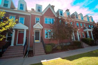 Photo 1: 314 GARRISON Square SW in Calgary: Garrison Woods Row/Townhouse for sale : MLS®# A1127756