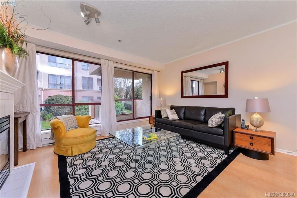 large living room with balcony