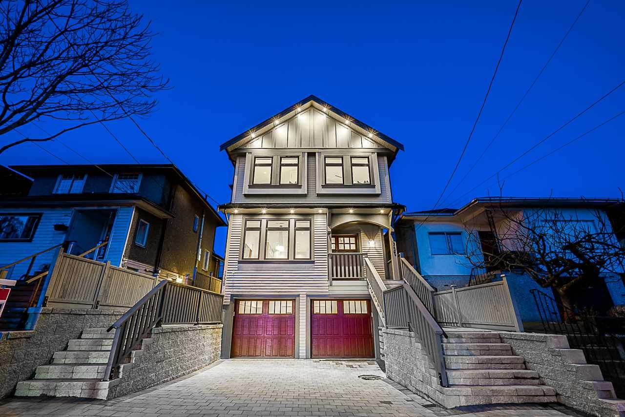 Main Photo: 1728 COTTON Drive in Vancouver: Grandview Woodland 1/2 Duplex for sale (Vancouver East)  : MLS®# R2370304