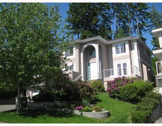 Photo 1: 210 PARKSIDE Drive in Port_Moody: Heritage Mountain House for sale (Port Moody)  : MLS®# V768821