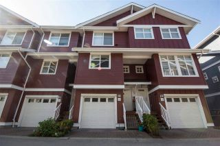 "Photo 1: 65 935 EWEN Avenue in New Westminster: Queensborough Townhouse for sale in ""COOPERS LANDING"" : MLS®# R2575607"