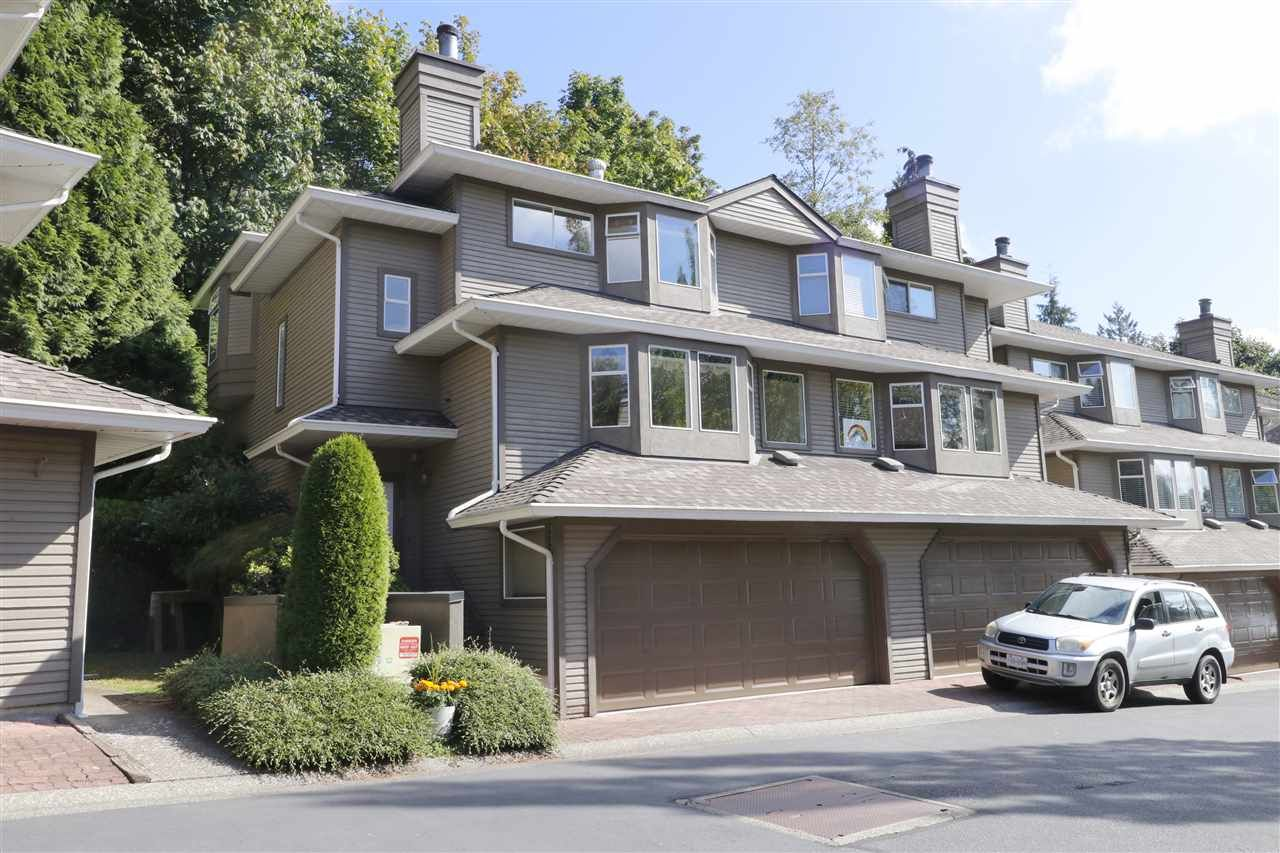 "Main Photo: 8869 LARKFIELD Drive in Burnaby: Forest Hills BN Townhouse for sale in ""PRIMROSE HILL"" (Burnaby North)  : MLS®# R2493089"
