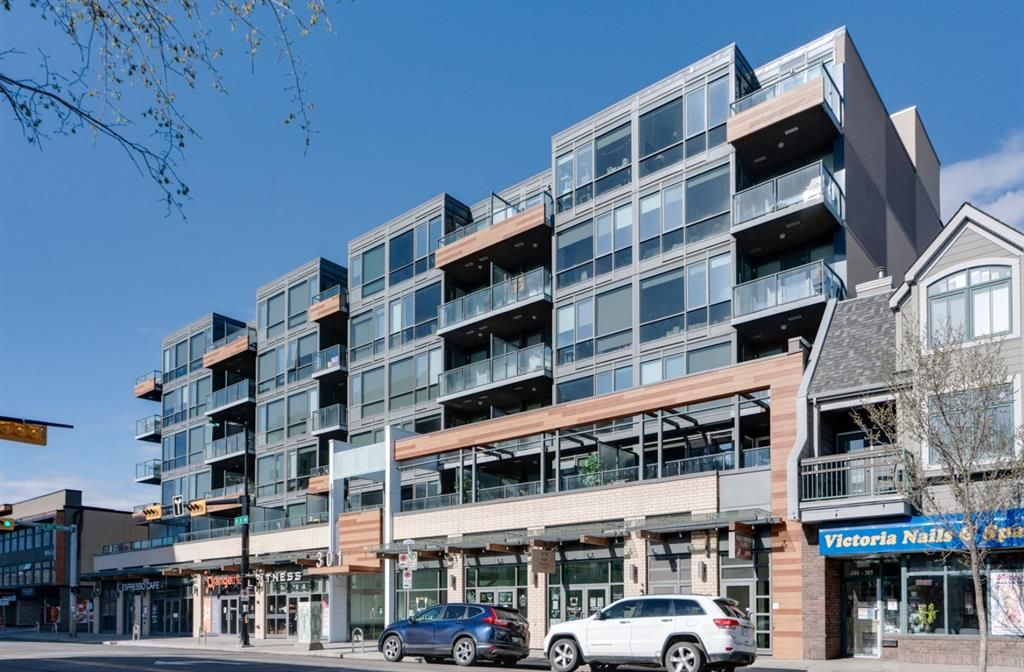 Main Photo: 207 301 10 Street NW in Calgary: Hillhurst Apartment for sale : MLS®# A1103430