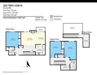"Photo 13: 202 7095 133B Street in Surrey: West Newton Townhouse for sale in ""Sun Creek"" : MLS®# R2614920"