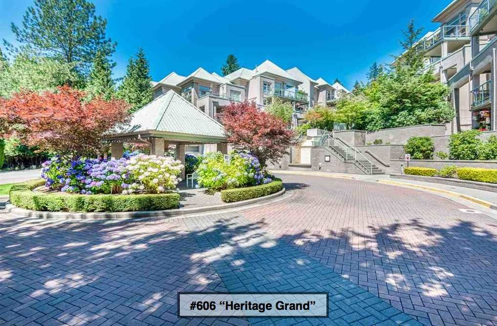 """Main Photo: 606 301 MAUDE Road in Port Moody: North Shore Pt Moody Condo for sale in """"Heritage Grand"""" : MLS®# R2260187"""