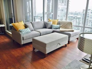 Photo 4: 2805 583 Beach Crescent in Vancouver: Yaletown Condo for rent (Vancouver West)
