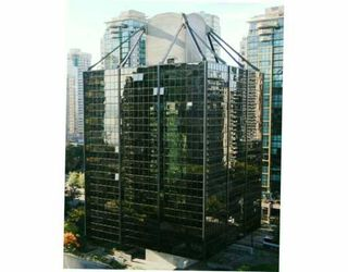 """Photo 1: 1333 W GEORGIA Street in Vancouver: Coal Harbour Condo for sale in """"THE QUBE"""" (Vancouver West)  : MLS®# V626760"""