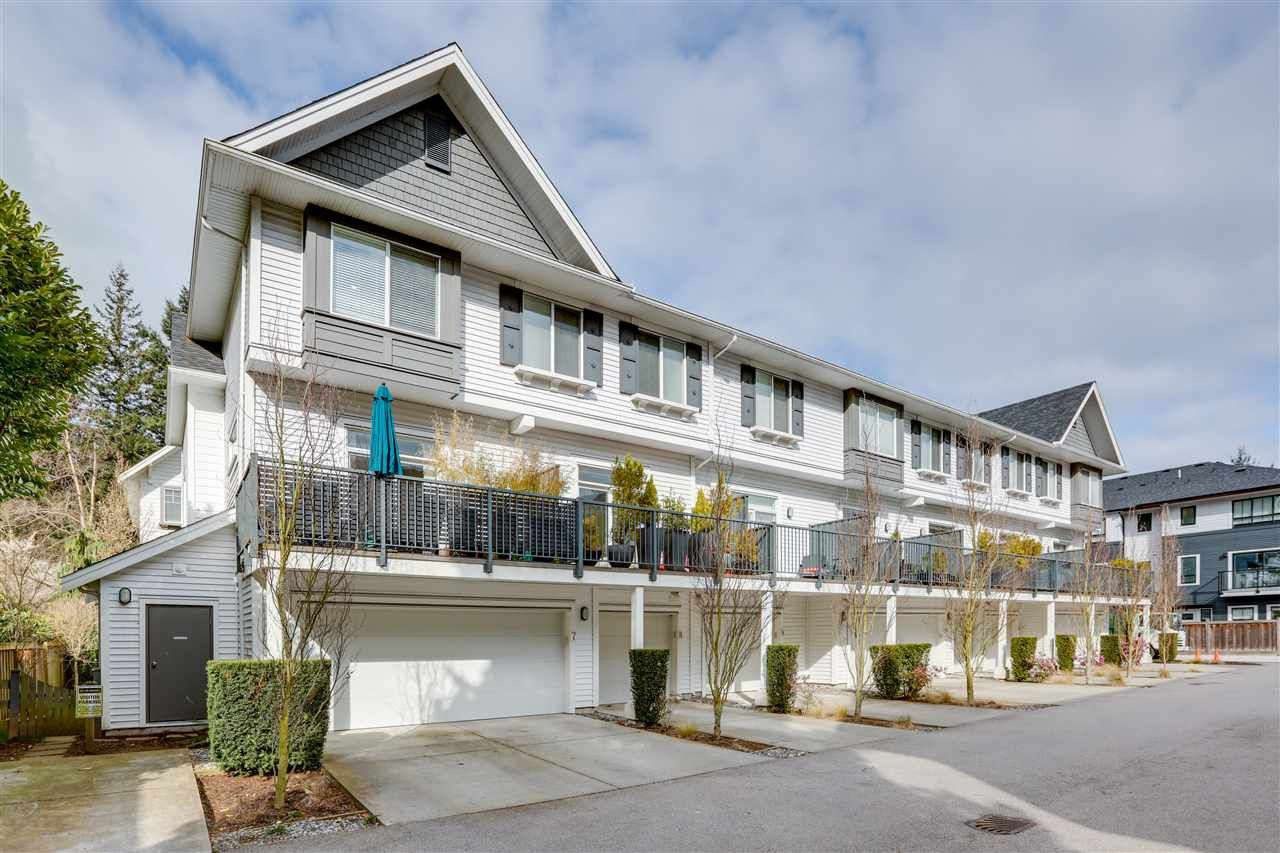 """Main Photo: 7 277 171 Street in Surrey: Pacific Douglas Townhouse for sale in """"ON THE COURSE II"""" (South Surrey White Rock)  : MLS®# R2558680"""