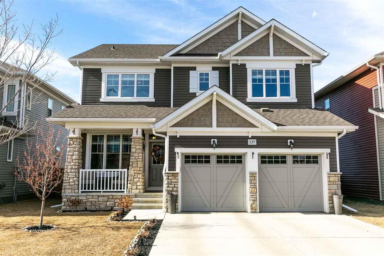 Main Photo: 137 RIDEAU Crescent: Beaumont House for sale : MLS®# E4233940