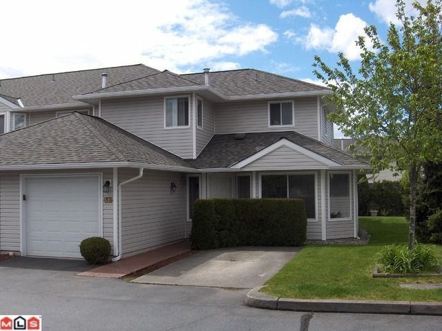 "Main Photo: 93 21928 48TH Avenue in Langley: Murrayville Townhouse for sale in ""MURRAYVILLE GLEN"" : MLS®# F1012642"