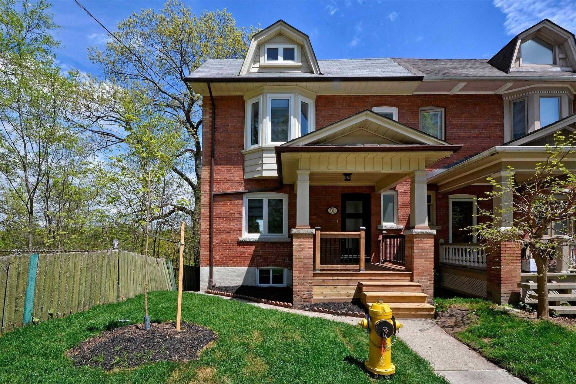 Main Photo: 51 Mountview Avenue in Toronto: High Park North House (2-Storey) for sale (Toronto W02)  : MLS®# W4658427