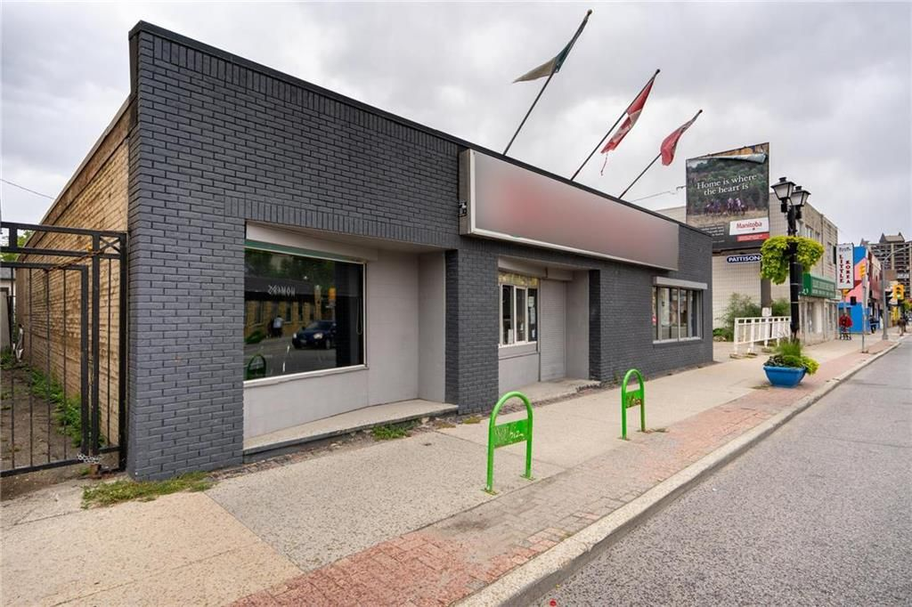 Main Photo: 529 Ellice Avenue in Winnipeg: Industrial / Commercial / Investment for sale (5A)  : MLS®# 202008108