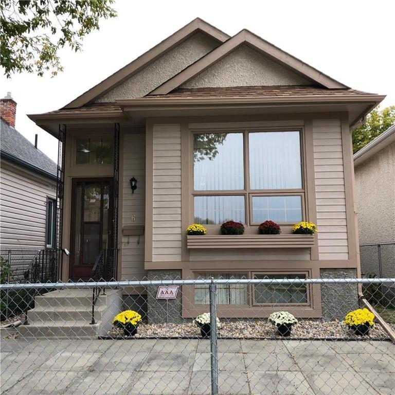 Main Photo: 6 Ada Street in Winnipeg: Brooklands Residential for sale (5D)  : MLS®# 202023728